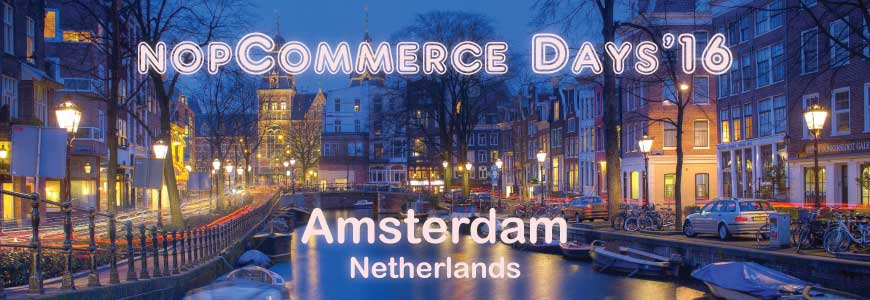 nopCommerce Days 2016: Annual nopcommerce conference event feedback