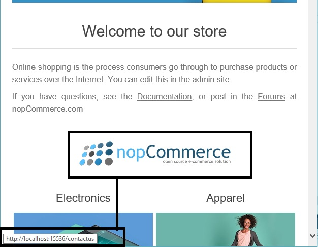 nopcommerce image topic