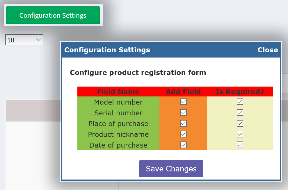 Product Registration - nopCommerce Plugin