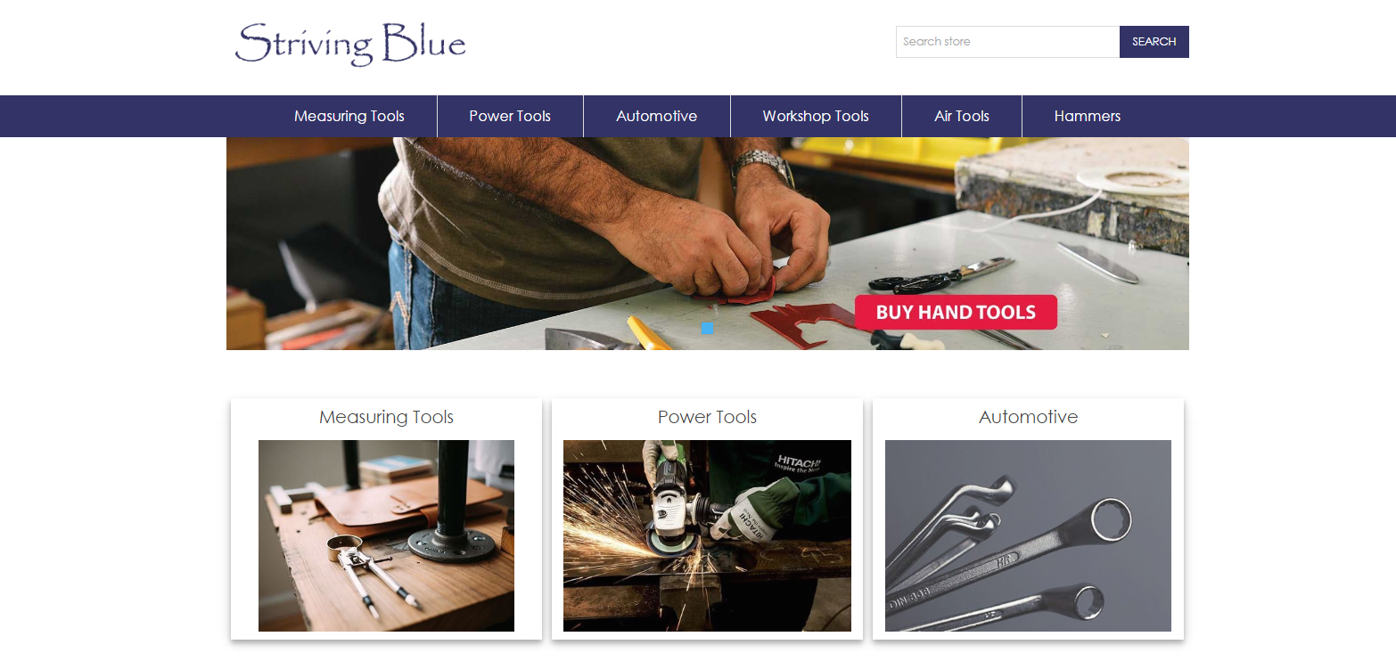 Striving Blue nopCommerce Theme