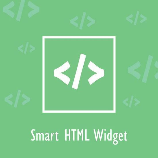 Smart HTML Widget - nopCommerce Plugin